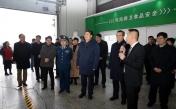 住陕全国政协委员在西安国际港务区视察